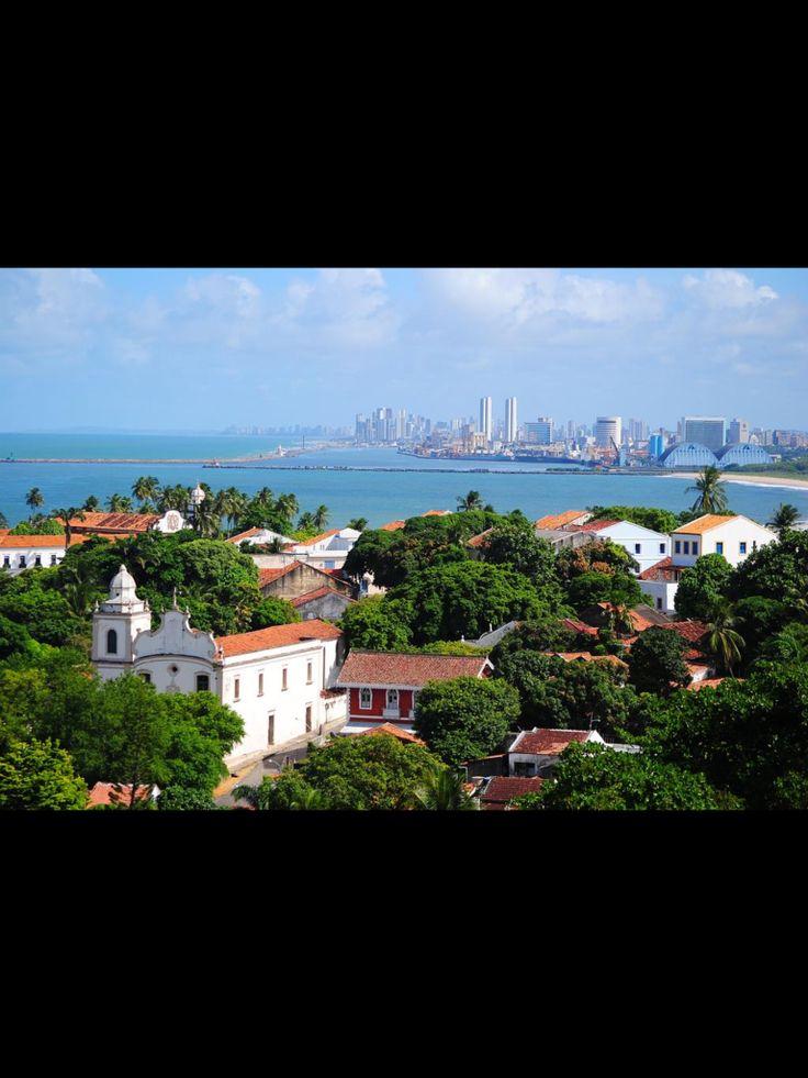 Recife visto de Olinda