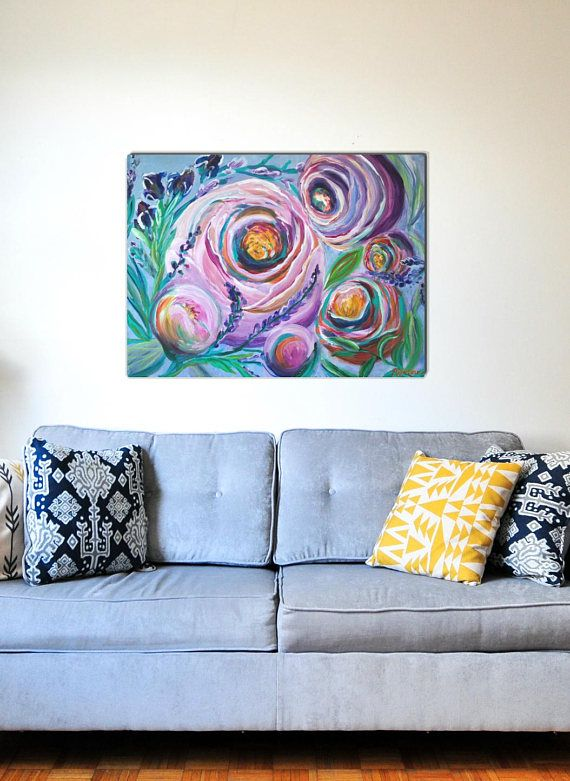 Hey, I found this really awesome Etsy listing at https://www.etsy.com/ca/listing/579259014/give-her-flowers-18x24-acrylic-painting