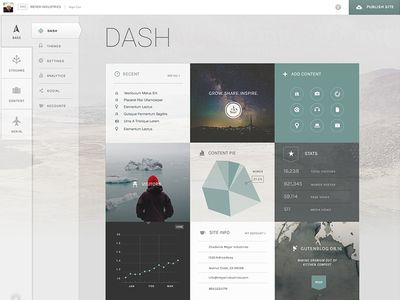 2.0 Dash Light Theme - - - Daniela Meyer