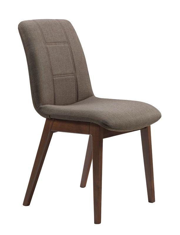 Aannø® 3000 stol3704 valnøttfarget stoff Flirt