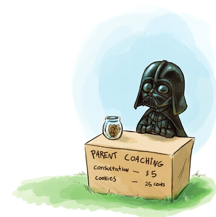 Darth #Vader - parent coaching by *oomizuao on deviantART