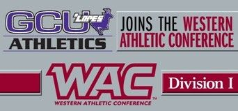 GRAND CANYON UNIVERSITY ACCEPTS INVITATION TO WESTERN ATHLETIC CONFERENCE  The private, Christian university in Phoenix will begin the transition to NCAA Division I status next fall