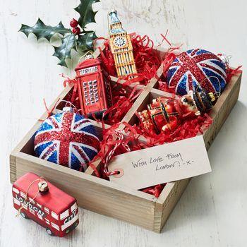 Great British Christmas Tree Decorations