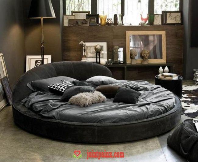 Leder Bett Design Dandy Bedroom Bed Design Round Beds Modern Home Furniture Leder Bett Desi In 2020 Runde Betten Schlafzimmer Design Modernes Schlafzimmer Design