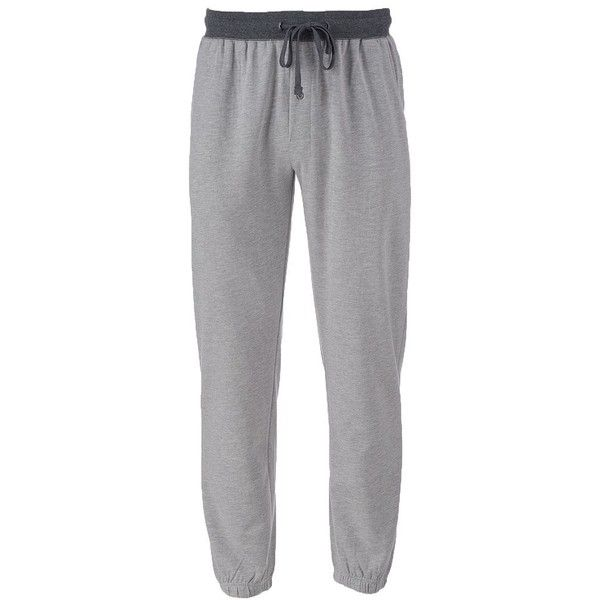 Big & Tall Men's Hanes Big & Tall Jogger Pants ($45) ❤ liked on Polyvore featuring men's fashion, men's clothing, men's activewear, men's activewear pants, grey, mens activewear pants and mens activewear