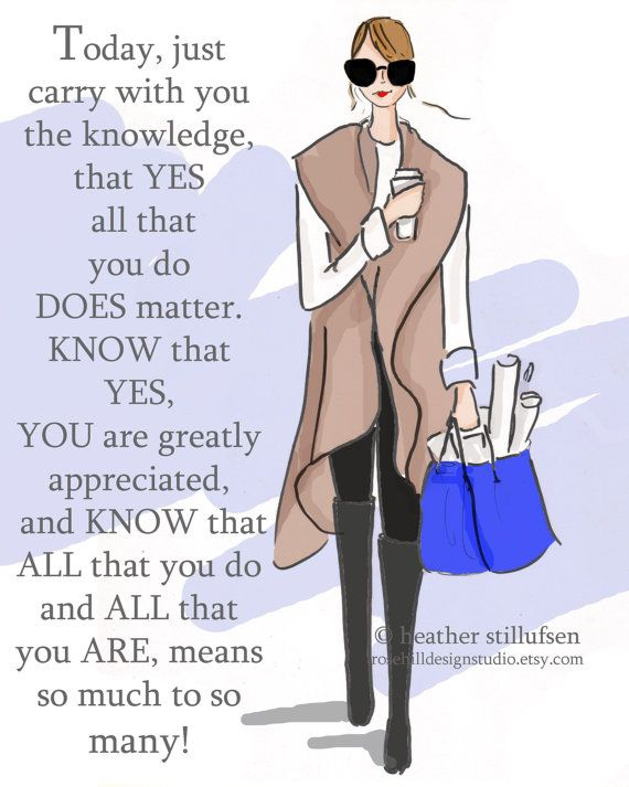 YOU are Appreciated by So Many Autumn  Art by RoseHillDesignStudio
