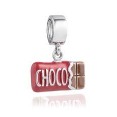 Pingente Barra de Chocolate Life