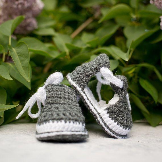 Sandales garçon, Crochet bébé garçon sandales, chaussures de bébé, chaussons garçon au Crochet, vêtements d