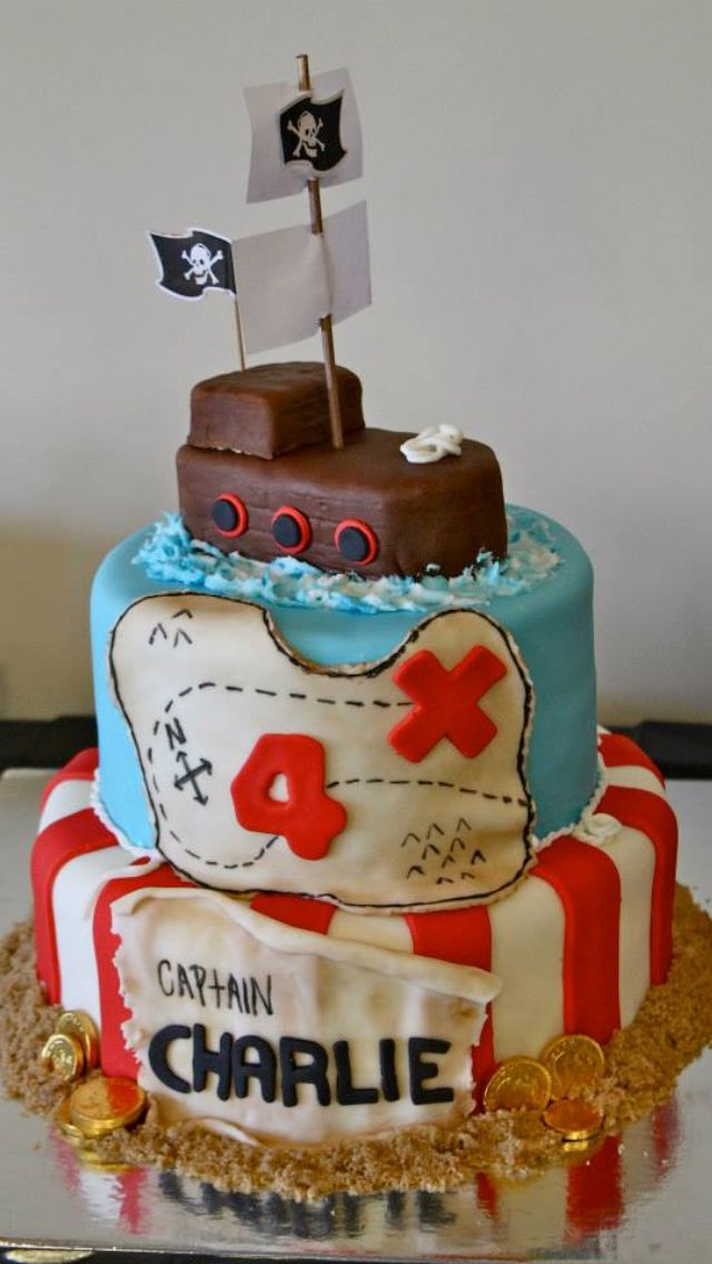Pirate Cake ..Zach would love this