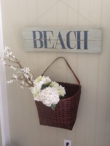 Vintage On A Dime! Seaside Cottage Decor...: Keeping It Simple...,,