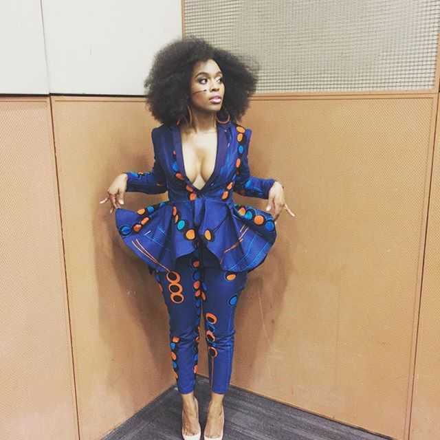 Power Suit! #SimonSabelaAwards #NubianPrincess by @richfactory