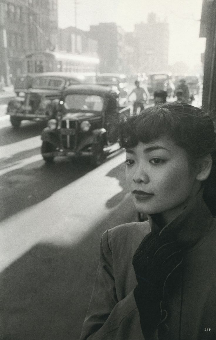 Werner Bischof:  Michiko in town Tokyo, Japan 1951