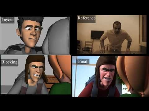 "CGI Animation Breakdowns HD: ""ELF"" Shot progression - by Alaa Aldeen Afifah - YouTube"