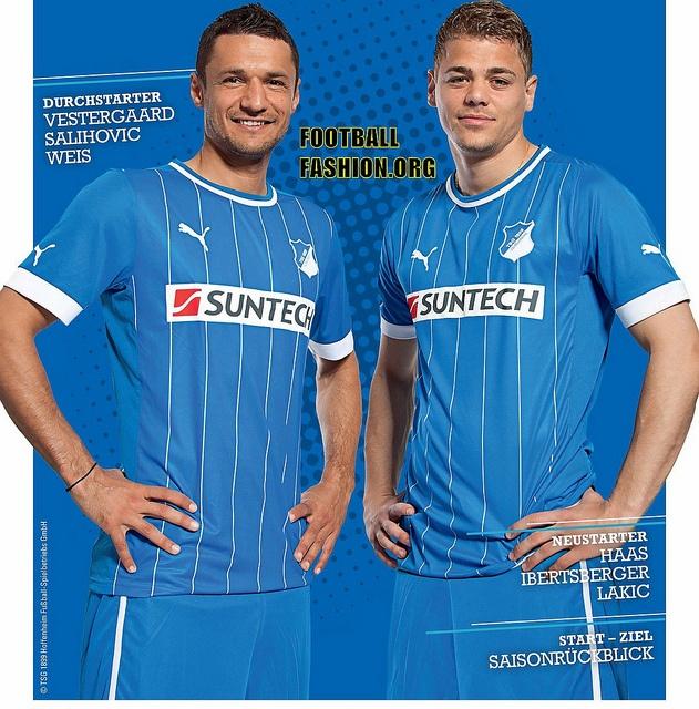 TSG 1899 Hoffenheim PUMA 2012/13 Home Kit