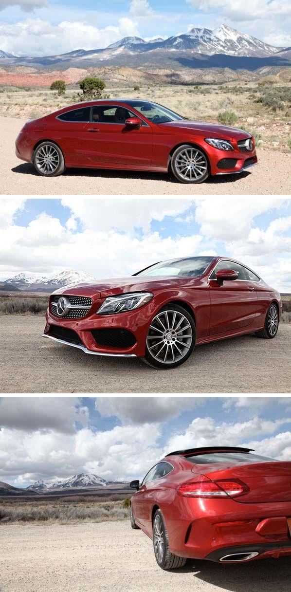 The Mercedes-Benz C-Class Coupé cuts a fine figure on every road. Photos for #MBphotopass via @mercedesbenzusa