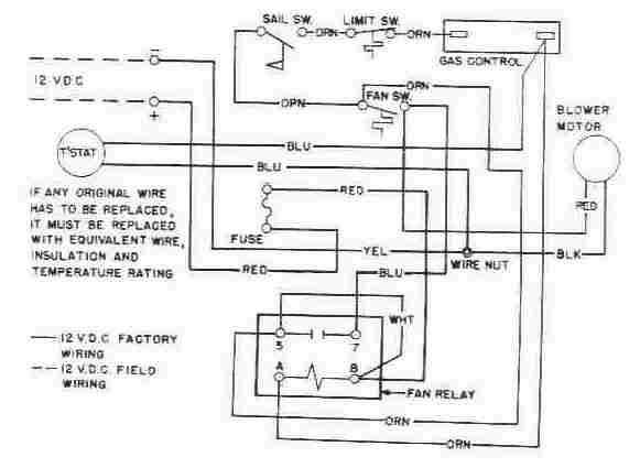 Furnace Fan Relay Wiring - Preview Wiring Diagram on