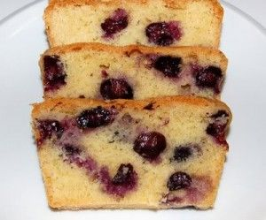 Pressure Cooker Blueberry Cake