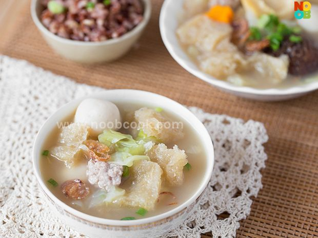Fish Maw Soup Recipe_ check other soup collection at that website_search: Chinese soup archives