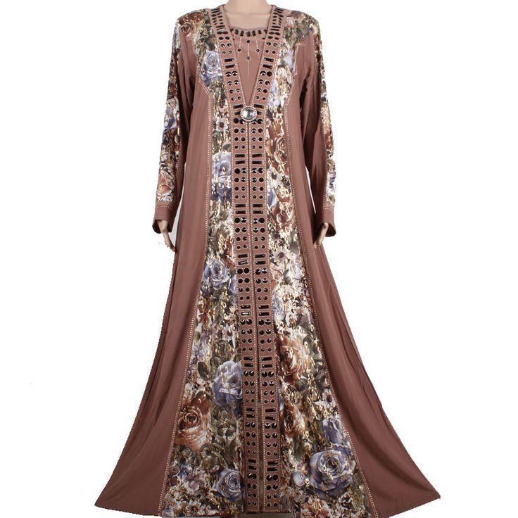 Muslim abaya dress Islamic clothing for women kaftan abaya dress turkish muslim dresses modest abaya dresses 95M4245-6