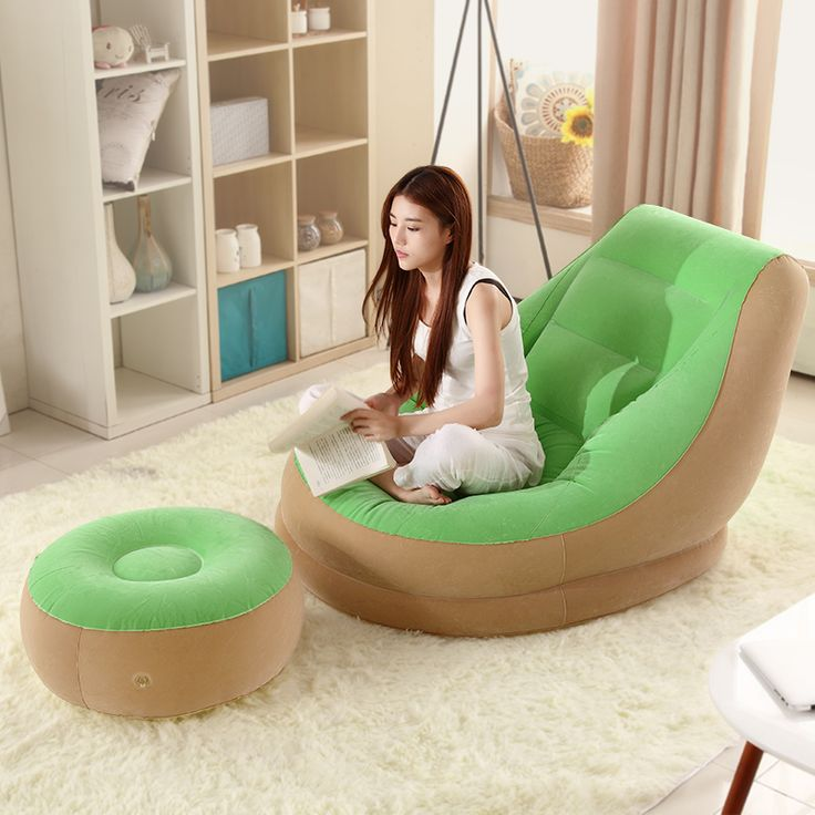 Cheap chair kid, Buy Quality bed chair pillow directly from China chair sofa bed Suppliers: Lazy Sofa Single Small Inflatable Sofa Bed Bedroom Balcony Nap Creative Leisure Hostel Lazy Chair
