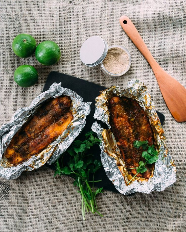 Baked White Fish in Spices
