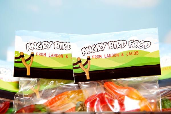 Angry Birds worms for bird food