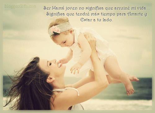 Tarjetas con Frases para Madres Solteras