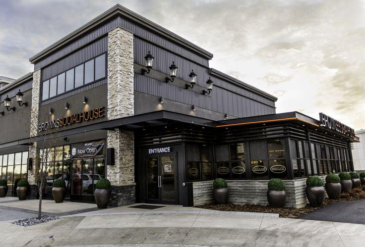 red beige gray restaurant exterior - Google Search