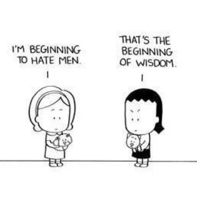I don't hate men but this is really funny!