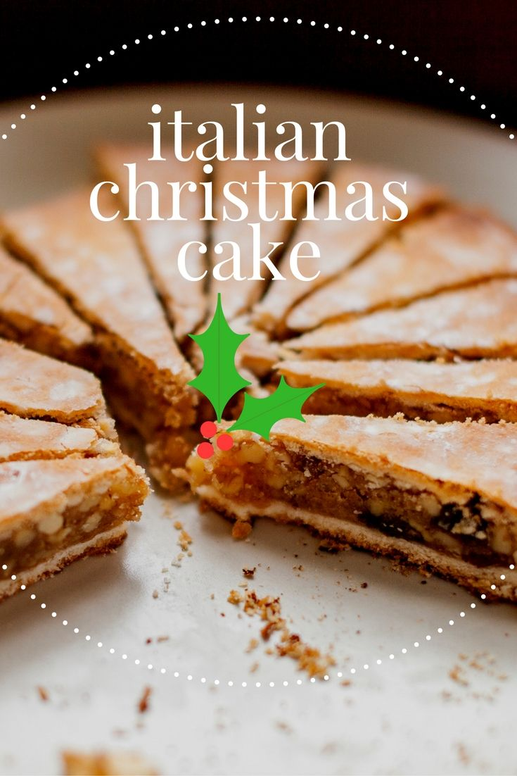 This Italian Christmas cake recipe is a speciality of the Emilia Romagna region, given as gifts to friends and family.
