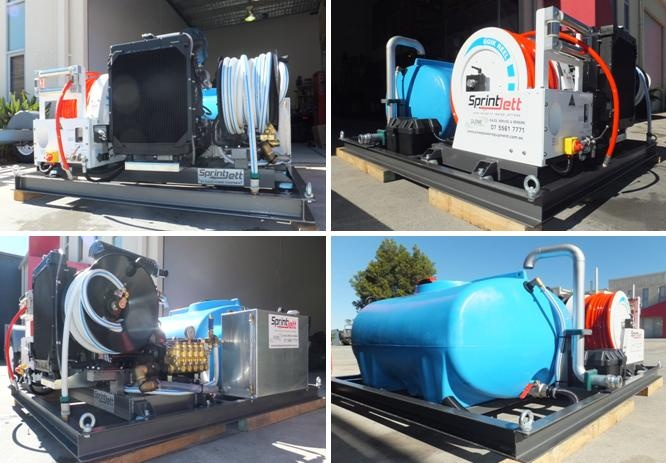 This is a tough jetter! Fitted with a Kohler 2.2L water cooled turbo diesel engine. This jetter was all custom built by Pulse Power Equipment Qld Australia.    Whether you are looking for a small or large jetter, we can build it for you. Contact Pulse Power Equipment - The Jetter Experts on 07 5561 7771.