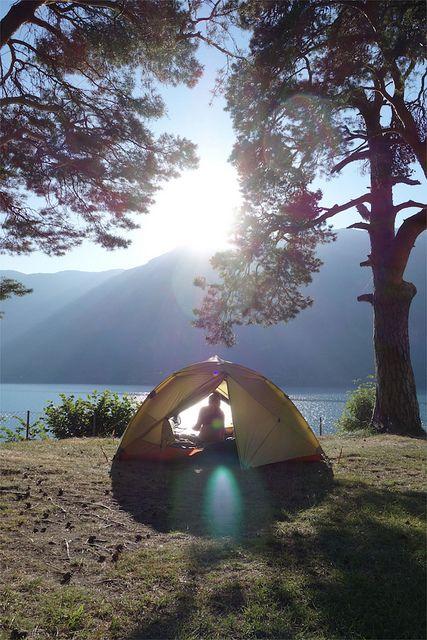 Eikhamrane camping