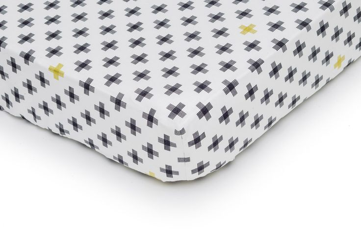 Fitted Crib Sheet + signs. Scandinavian Crib Sheet. Geometric Baby Bedding. Gender Neutral Baby Bedding, Black White Sheet. Modern Nursery by Minilogie on Etsy https://www.etsy.com/listing/508998621/fitted-crib-sheet-signs-scandinavian