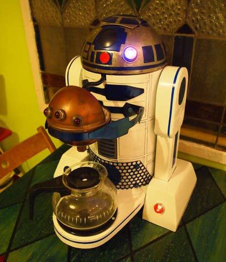 Star Wars R2-D2 Coffee Maker; so freakin' cool!