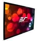 Elite Screens ER120WH1 Sable Fixed Frame Projection Screen (120 inch 16:9 AR) - http://www.audiovideocabledeals.com/home-theater/home-theater-projector-screens/elite-screens-er120wh1-sable-fixed-frame-projection-screen-120-inch-169-ar/