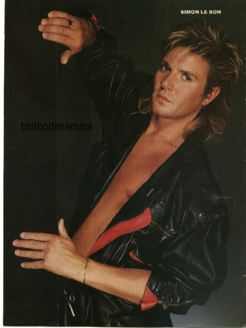 Simon Le Bon: any picture showing some Simon nipple is definitely awesome!
