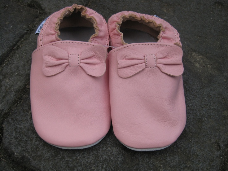 Ballet slippers  #Two Soles # Leather # Baby and Toddler shoes #Pink