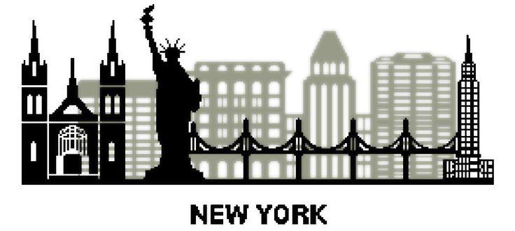 """Grille de Kalys - Point de Croix """"New York City"""" - Envoi Papier : Broderie par lesgrillesdekalys"""