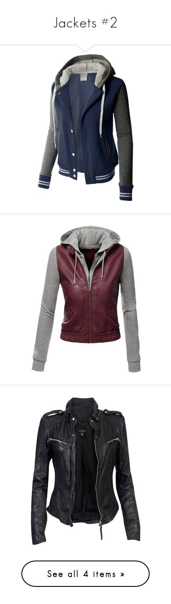 """Jackets #2"" by aj-the-creepypasta ❤ liked on Polyvore featuring outerwear, jackets, jacket's, hooded baseball jacket, slim fit jackets, stripe jacket, blue baseball jacket, fleece baseball jacket, tops and jackets/vests"