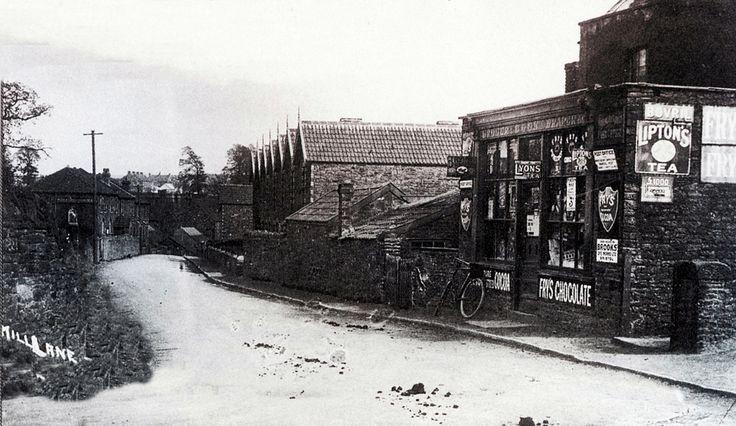 1922 Corner of Mill Lane, Cadbury Heath, BS30   by brizzle born and bred