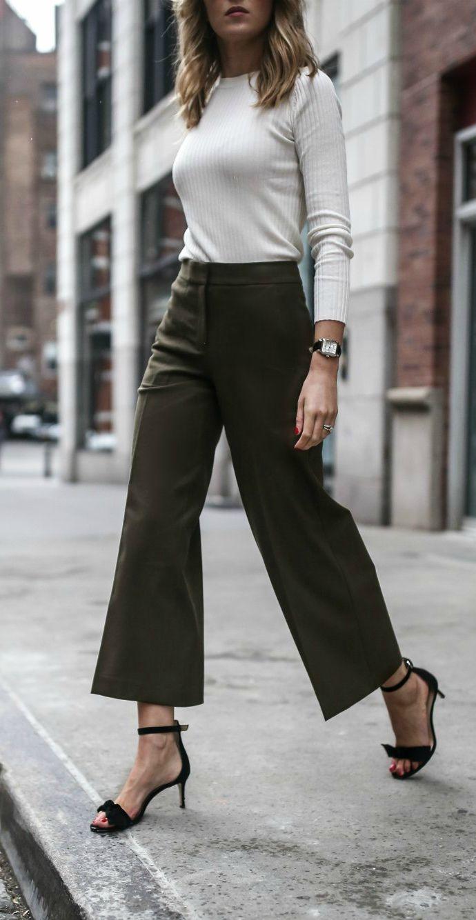 The 25+ best Wide leg cropped pants ideas on Pinterest ...