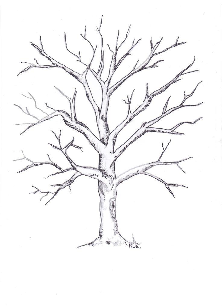 dibujos de arboles secos - Buscar con Google | BODAS in 2018 ...