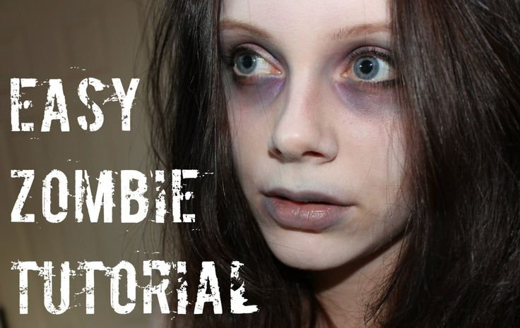 Easy Zombie Makeup Tutorial – Makeup Project