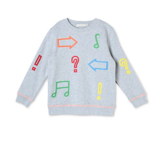 Shop the Musical Notes Biz Sweatshirt by Stella Mccartney Kids at the official online store. Discover all product information.
