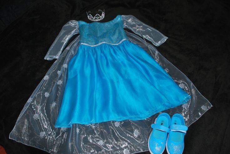Elsa dress (Frozen)