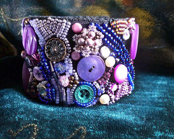 Jewelry Tutorial Button Bracelet  Bead and by JewelryonPicadilly