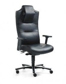Mayer Sitzmöbel Chefsessel, Ledersessel, Drehsessel MYCRONOS BIG SIZE 2498,  Belastung Bis 150 Kg