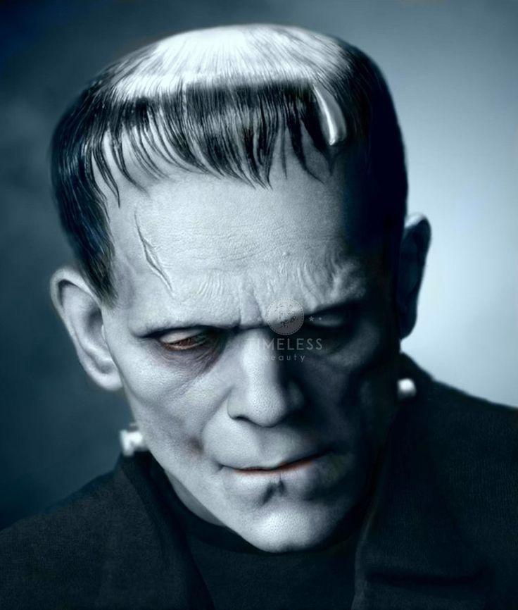 Frankenstein di James Whale 1931 - #TimelessBeauty #StoriaDelMakeup #Cinema