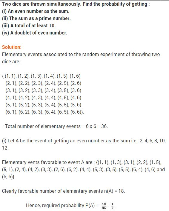 Probability Class 9 Extra Questions Maths Chapter 15 Maths Ncert Solutions Math This Or That Questions