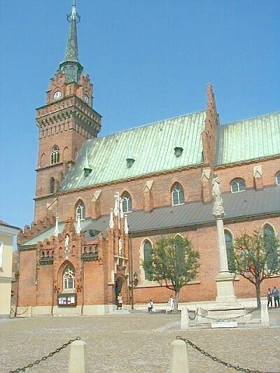 CATHEDRAL in TARNOW. I had my last confession there about 10 years ago, oh boy!